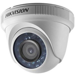 Câmera Dome HDTVI IR 20m 720p 1MP 2.8mm DS-2CE56C0T-IRP Hikvison