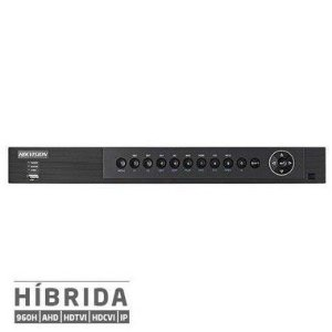 DVR Full HD 1536p 3MP Turbo 5x1 (HDTVI, HDCVI, AHD, Analógico, e IP)  Canais HIKVISION