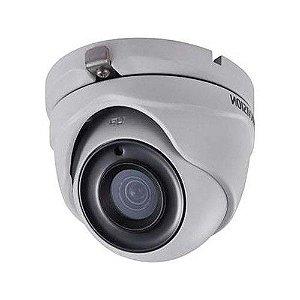 Câmera Dome HDRVI IR 20m 1536p 3MP 2.8mm DS-2CE56F1T-ITM Hikvision