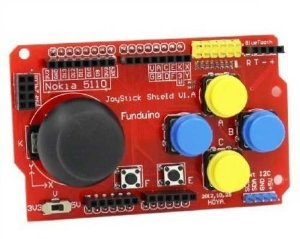 Joystick Shield Arduino Bluetooth Nrf24l01 Nokia I2c
