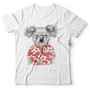 Camiseta Koala Tropical