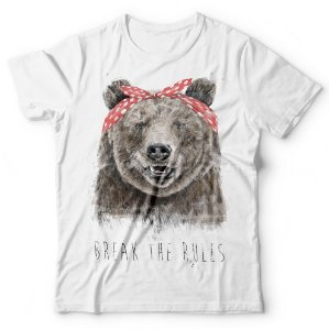 Camiseta Urso Break The Rules