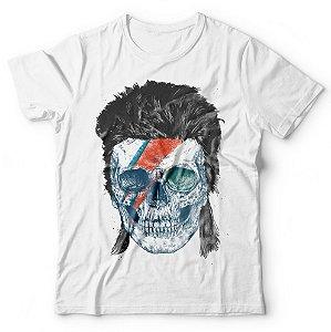 Camiseta Caveira Bowie