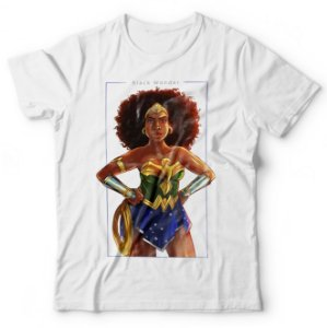 Camiseta Black Wonder Woman