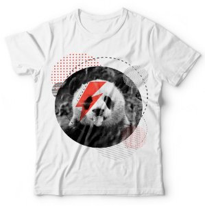 Camiseta Panda Bowie