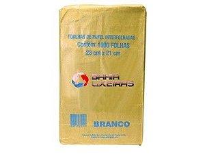 Papel Toalha 3 Pacotes C/ 1000 Gramas Branco