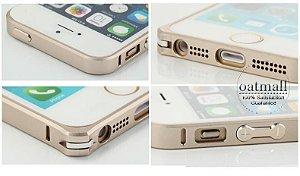 Capa para iPhone 5 Bumper Para Metal Case iPhone 5S 0,7 milímetros de alumínio 5g Ultra Fina Para iPhone5s telefone Quadro