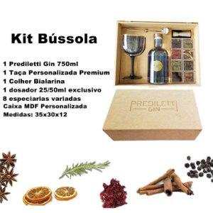 Kit Bússola - Prediletti Gin