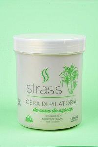 Cera Depilatória Strass de Cana de Açúcar Vegana 100% Natural 1.350Kg (Varejo)