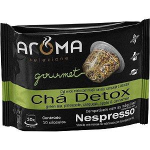 cápsulas de chá detox aroma selezione