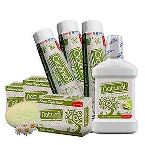 kit higiene natural vegana orgânica