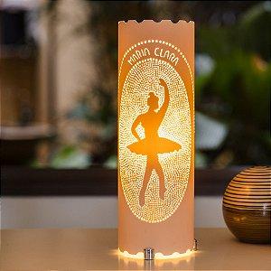 Luminária de mesa decorativa - Bailarina Quatrieme Position