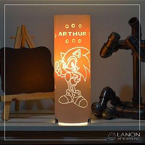 Luminária de mesa decorativa - Sonic