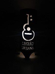 Luminária de mesa decorativa - Legião Urbana