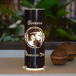 Luminária de mesa decorativa - Personalizada - Corporativa