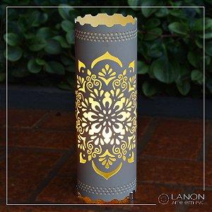 Luminária de mesa decorativa - Mandala