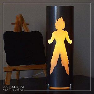 Luminária de mesa decorativa - Dragon Ball Z - Goku- DBZ