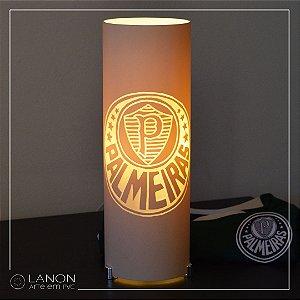 Luminária de mesa decorativa times - Palmeiras