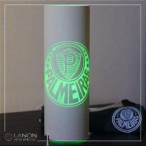 Luminária de mesa decorativa times - Palmeiras Verde