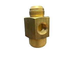Conexão Descarga da Unidade Compressor Ce55rw Schulz - 003.0419-0/AT