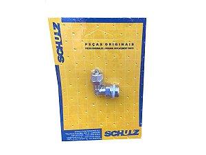 """Cotovelo em Latão 1/4"""" x 6mm Schulz - 003.0826-0/AT"""
