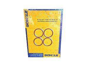 Kit Com 4 Peças Anel O-Ring  Schulz - 023.0346-0/AT