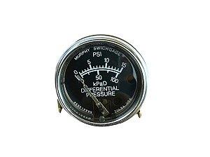 Manômetro Diferencial De 0 Á 5 Psi, Não Automático C/Acessórios Schulz - 011.0103-0/AT