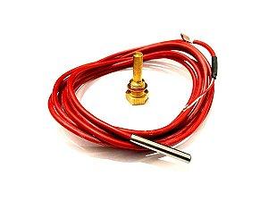 Sensor Temperatura Por Resistencia 3 metros Compressor Schulz - 012.1240-0/AT