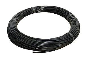 Mangueira Flexível de Nylon Tubo de 6mm Preta - 100 Metros