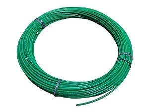 Mangueira Flexível de Nylon Tubo de 6mm Verde - 100 Metros