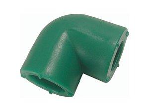 Joelho 90° Redução 25x20 Mm Ppr Rede Água Quente e Fria Topfusion