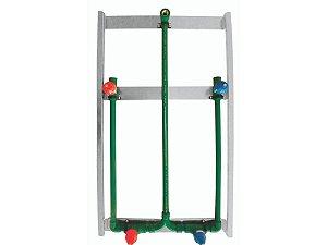 Kit Misturador Drywall 1/4 de Volta Ppr (Deca) Água Quente e Fria 25mm - Topfusion