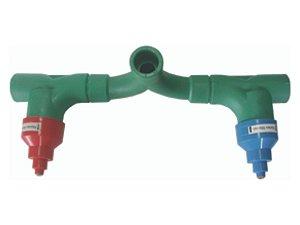 Misturador Conjunto Base Convencional Ppr (Deca) Rede Água Quente e Fria 25mm  - Topfusion