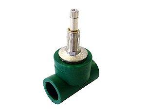 Registro Base Pressão Standard Ppr (Docol) Para Rede De Água Quente e Fria 25mm Topfusion