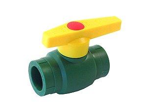 Registro Esfera 63mm em Ppr Para Rede de Água Quente e Fria - Topfusion
