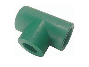 Te Redução Ppr Rede De Água Quente e Fria 50mm X 32mm Topfusion