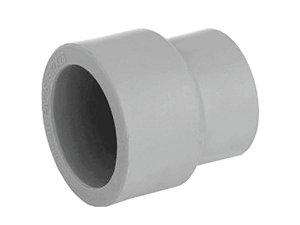 Luva De Redução Ppr Topfusion Para Rede a Vácuo 50 X 40 Mm