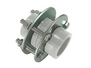 União Com Flange Ppr Rede a Vácuo 63mm - Topfusion
