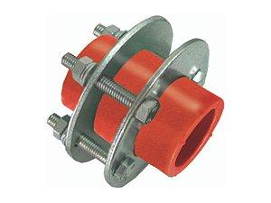 União Com Flange Ppr Rede de Incêndio 160mm - Topfusion