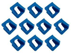 Kit Com 10 Suportes Fixador De Tubo PPR Azul 32mm – Schweers