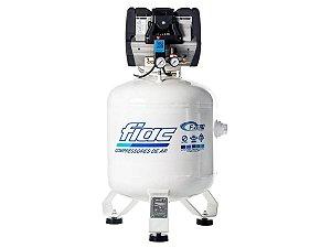 Compressor De Ar Isento De Óleo Odontológico 10 Pés 100 Litros 220v F.ZERO XS 100V - Fiac