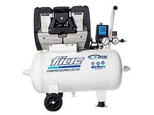Compressor De Ar Isento De Óleo Odontológico 10 Pés 28 Litros 220v F.ZERO XS 28 - Fiac