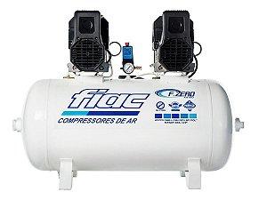 Compressor De Ar Isento De Óleo Odontológico 20 Pés 100 Litros 220v F.ZERO XS 100 - Fiac