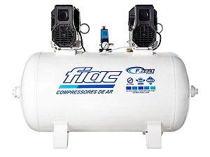 Compressor De Ar Isento De Óleo Odontológico 20 Pés 200 Litros 220v F.ZERO XS 200 - Fiac