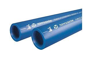 TUBO PPR PARA REDE DE AR COMPRIMIDO 40 MM BARRA 3 METROS - TOPFUSION