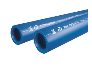 TUBO PPR PARA REDE DE AR COMPRIMIDO 63 MM BARRA 3 METROS - TOPFUSION
