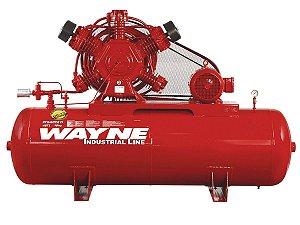 COMPRESSOR DE AR WAYNE - W600 - 40 PES 425 LITROS 250 LIBRAS CONTINUO 220/380V TRIF (MOTOR BLINDADO)