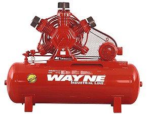 COMPRESSOR DE AR WAYNE - W900 - 60 PES 425 LITROS 175 LIBRAS 220/380/440/760V TRIF (MOTOR BLINDADO)