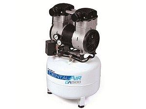 Compressor De Ar Odontológico Airzap Da1500-25Vf Isento De Óleo Odontológico 7,05 Pés 24 Litros