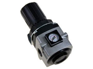 """Regulador de Pressão de Ar Comprimido com Manômetro Embutido 1/2"""" - Werk Shott"""